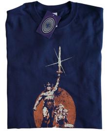 Conan the Barbarian T Shirt (Blue)