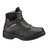 """Wolverine® Men's DuraShocks® SR Steel-Toe Direct-Attach EH 6"""" Black Work Boot"""