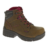 "Wolverine® Women's Merlin Waterproof Composite-Toe EH 6"""" Work Boot"