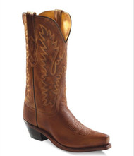 Old West Women's Tan Western Boots