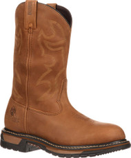 Rocky Men's Original Ride Branson Steel Toe WaterproofWestern Boots