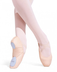 Capezio® Adult Leather Juliet Ballet Slipper (Light Pink)