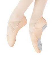 Capezio® Child Leather Juliet Ballet Slipper (Light Pink)