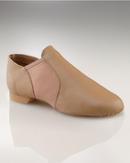 Capezio® Adult E-Series Slip On Jazz Shoes (Caramel)
