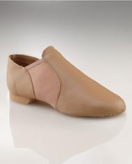 Capezio® Child E-Series Slip On Jazz Shoes (Caramel)
