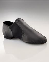 Capezio® Child E-Series Slip On Jazz Shoes (Black)