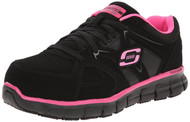 Skechers Work: Synergy - Sandlot ST (Black/Pink)