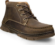 Justin Original Workboots Men's Tobar Brown Steel Toe Chukka Boots