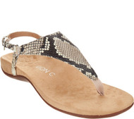 Vionic Kirra  Backstrap Sandals (Natural Snake)