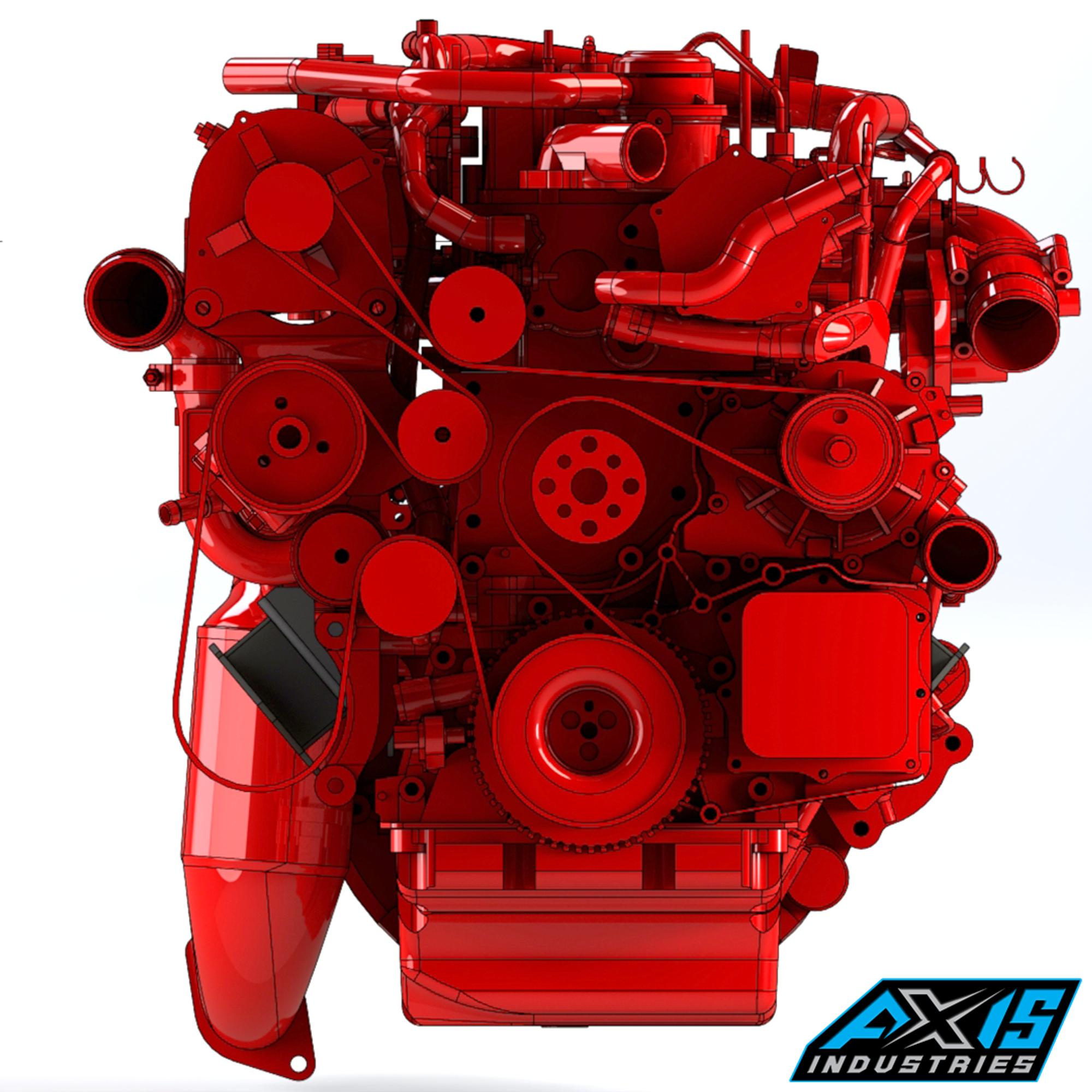 Cummins R2 8 Injectors: R2.8 Engine Side Mounts