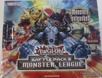 Battle Pack 3 Booster 1st Ed (Monster League) Yu-Gi-Oh