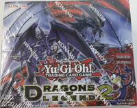 Dragons of Legend S2 1st Ed Booster Yu-Gi-Oh