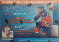 2016-17 Upper Deck Series 1 (Blaster) w/3 Parkhurst Bonus Packs Walmart Exclusive Hockey