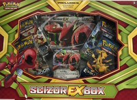 Scizor EX Box Gift Set Pokemon