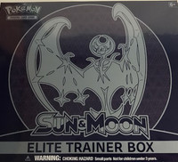 Sun & Moon Elite Trainer Box Pokemon