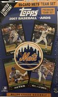 2007 Topps New York Mets (Blaster) Baseball