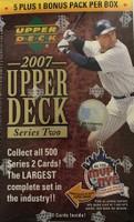 2007 Upper Deck Series 2 (Blaster) Baseball