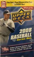 2008 Upper Deck Series 1 (Blaster) Baseball