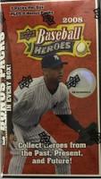 2008 Upper Deck Heroes (Blaster) Baseball