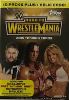 2015 Topps WWE Road to Wrestlemania Wrestling (Blaster) Entertainment Cards