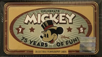 2004 Upper Deck Disney 75 Years of Mickey Set Entertainment Cards