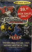 2003 Fleer Transformer Armada (Blaster) Entertainment Cards