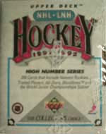 1991-92 Upper Deck HI Set (Factory) Hockey