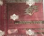 2000-01 Upper Deck SPX Hockey