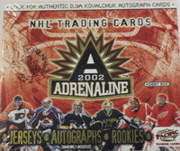 2001-02 Pacific Adrenaline (Hobby) Hockey