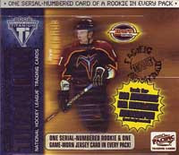 2001-02 Pacific Titanium Draft Day Hockey