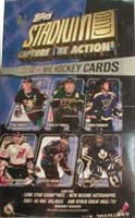 2001-02 Topps Stadium Club Blue Box (Retail) Hockey