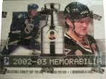 2002-03 Be A Player Memorabilia Hockey