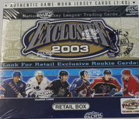 2002-03 Pacific Exclusive (Retail) Hockey