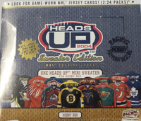 2003-04 Pacific Heads Up Sweater Edition (Hobby) Hockey