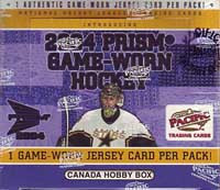2003-04 Pacific Prism Game Worn Hockey