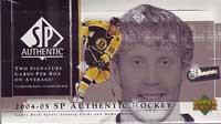 2004-05 Upper Deck SP Authentic Hockey