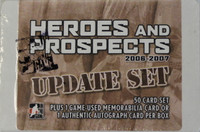 2006-07 In the Game Heroes and Prospects Update Set Hockey