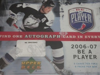 2006-07 Upper Deck Be A Player Signature Hockey