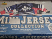 2006-07 Upper Deck Mini Jersey Hockey