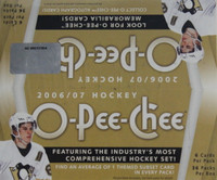 2006-07 Upper Deck O Pee Chee (Retail) Hockey