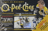 2007-08 Upper Deck O Pee Chee (Blaster) Oversized Orr Card Hockey