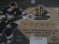 2007-08 Upper Deck SP Game Used Hockey