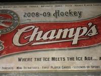 2008-09 Upper Deck Champs Hockey