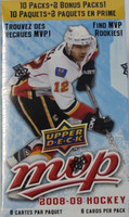 2008-09 Upper Deck MVP (Blaster) Hockey