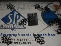 2008-09 Upper Deck SP Authentic Hockey