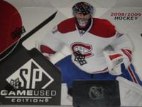 2008-09 Upper Deck SP Game Used Hockey