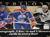 2008-09 Upper Deck Trilogy Hockey