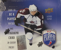 2009-10 Upper Deck Be A Player Signature Hockey