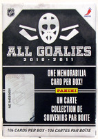 2010-11 Panini All Goalie Set Hockey