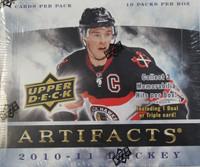 2010-11 Upper Deck Artifacts (Hobby) Hockey